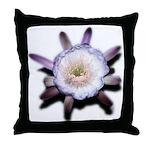 Monster Flower Throw Pillow