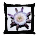 Monster Flower Throw Pillow