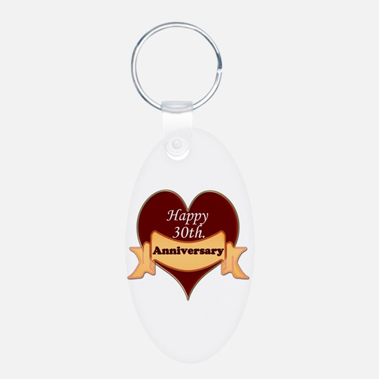 Unique 30th wedding anniversary Keychains