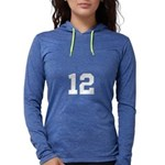 Personalize Number Womens Hooded Shirt