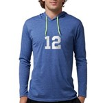 Personalize Number Mens Hooded Shirt