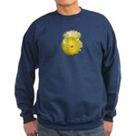 2 YELLOW BARREL CACTUS FLOWERS Sweatshirt (dark)