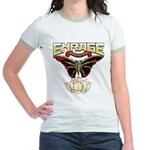 Enrage Nothing Stays Buried Jr. Ringer T-Shirt