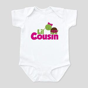 Girl Turtle Little Cousin Infant Bodysuit
