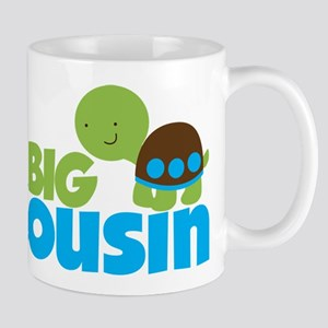 Boy Turtle Big Cousin Mug