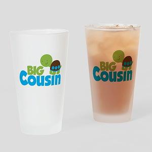 Boy Turtle Big Cousin Drinking Glass