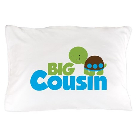 Boy Turtle Big Cousin Pillow Case