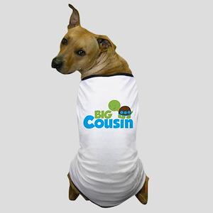 Boy Turtle Big Cousin Dog T-Shirt