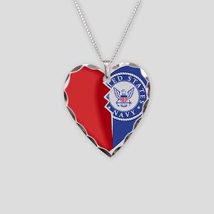 Half My Heart Necklace Heart Charm