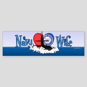 Navy Wife Sticker (Bumper)