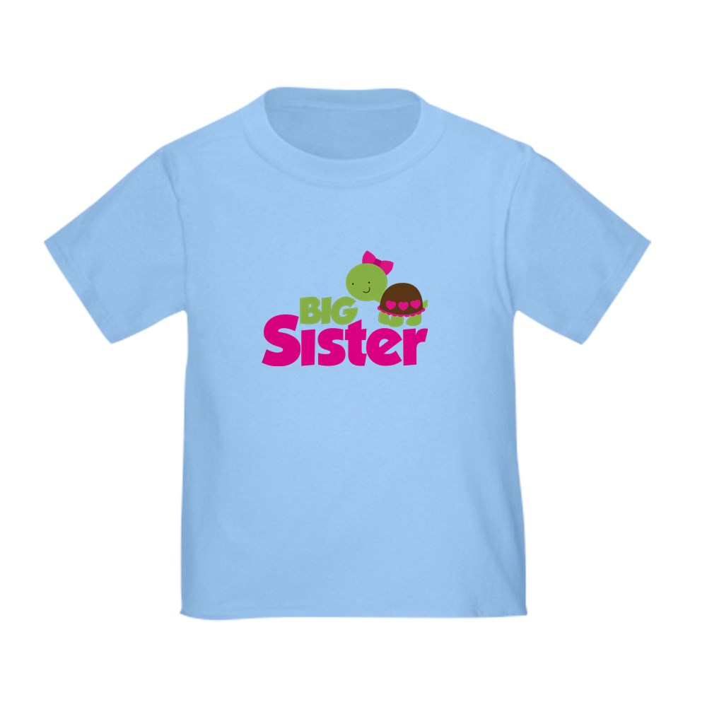 CafePress-Girl-Turtle-Big-Sister-Toddler-T-Shirt-Toddler-T-Shirt-653562922 thumbnail 5