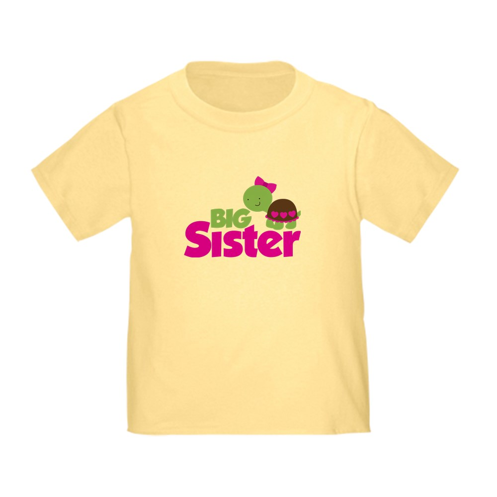 CafePress-Girl-Turtle-Big-Sister-Toddler-T-Shirt-Toddler-T-Shirt-653562922 thumbnail 9