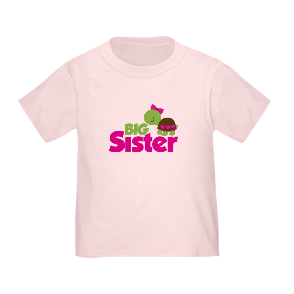 CafePress-Girl-Turtle-Big-Sister-Toddler-T-Shirt-Toddler-T-Shirt-653562922 thumbnail 13