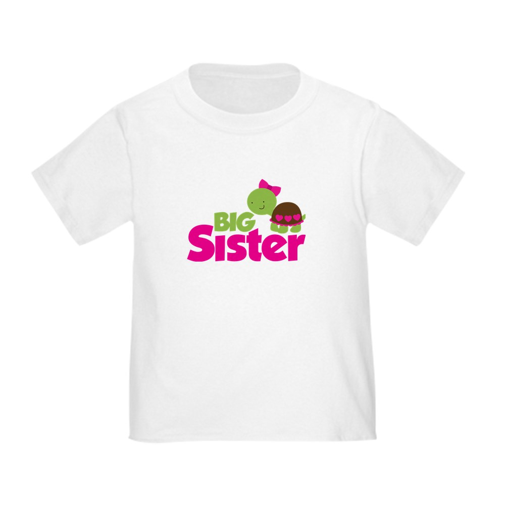 CafePress-Girl-Turtle-Big-Sister-Toddler-T-Shirt-Toddler-T-Shirt-653562922 thumbnail 19