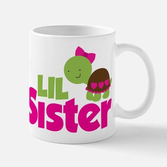 Girl Turtle Little Sister Mug