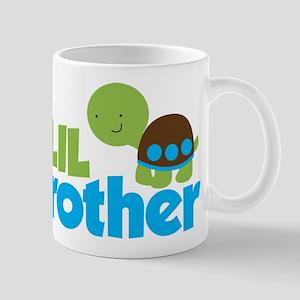 Boy Turtle Little Brother Mug