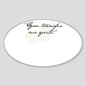 Transfix Sticker (Oval)