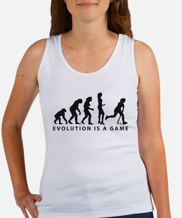 Evolution Hockey Woman B 2c.png Women's Tank Top