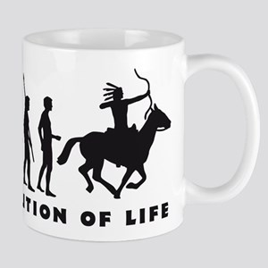 Evolution Indianer B Mug