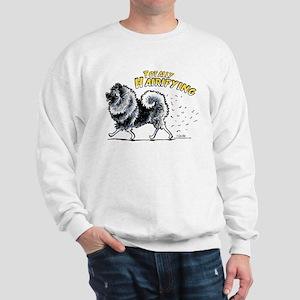 Keeshond Hairifying Sweatshirt