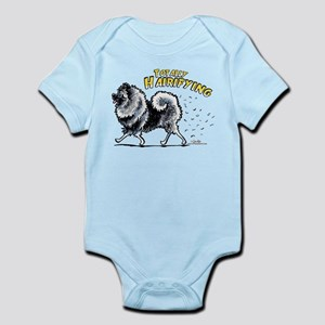 Keeshond Hairifying Infant Bodysuit