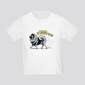 Keeshond Hairifying Toddler T-Shirt