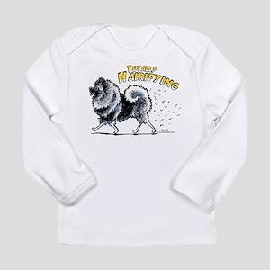 Keeshond Hairifying Long Sleeve Infant T-Shirt
