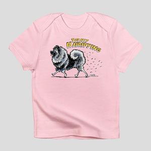 Keeshond Hairifying Infant T-Shirt