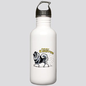 Keeshond Hairifying Stainless Water Bottle 1.0L