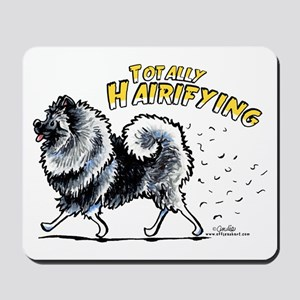 Keeshond Hairifying Mousepad