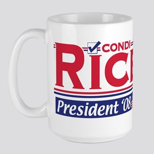Condi Rice 2008 Gear Large Mug
