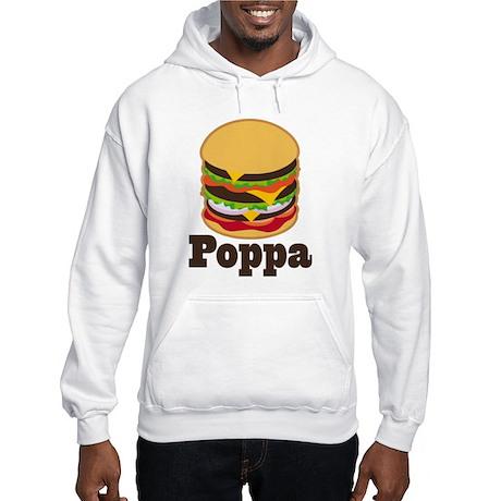 Poppa BBQ Grilling Grandpa Hooded Sweatshirt