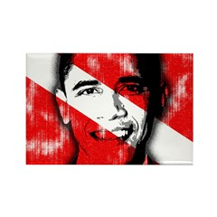 Divers for Obama Rectangle Magnet