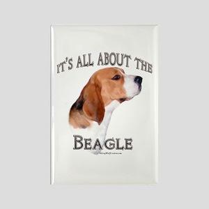 Beagle 7 Rectangle Magnet