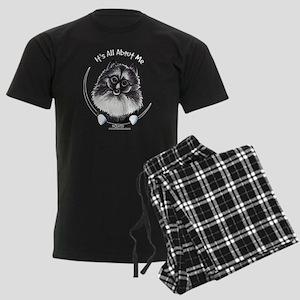 Keeshond IAAM Men's Dark Pajamas