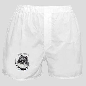 Keeshond IAAM Boxer Shorts