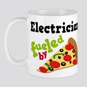Electrician Funny Pizza Mug