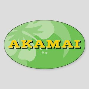 Akamai Sticker (Oval)