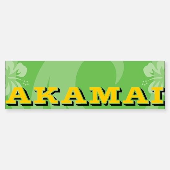 Akamai Sticker (Bumper)