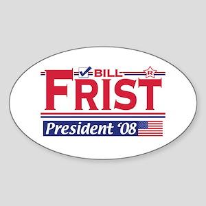 Bill Frist 2008 Gear Oval Sticker