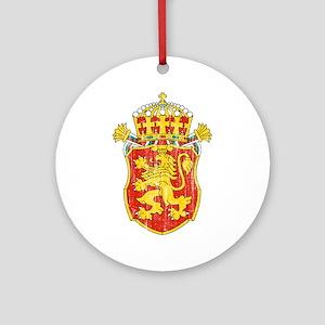 Bulgaria Lesser Coat Of Arms Ornament (Round)