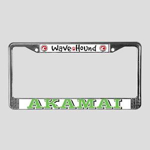 Akamai License Plate Frame