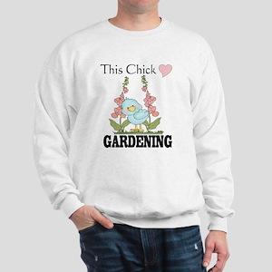 This Chick Loves Gardening Sweatshirt