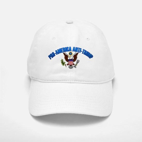 Pro-America, Anti-Trump Baseball Baseball Baseball Cap