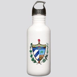 Cuba Coat Of Arms Stainless Water Bottle 1.0L