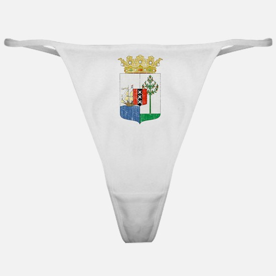 Curacao Coat Of Arms Classic Thong