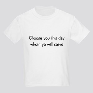 Choose you this day Kids T-Shirt