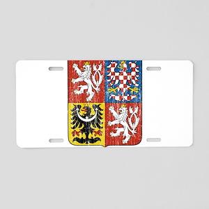 Czech Republic Coat Of Arms Aluminum License Plate