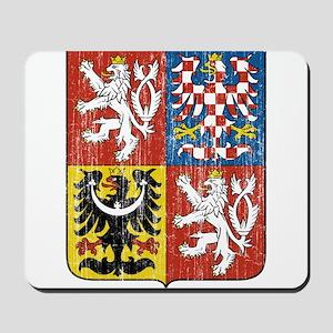 Czech Republic Coat Of Arms Mousepad