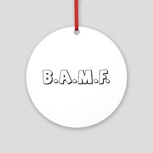 bamf Ornament (Round)